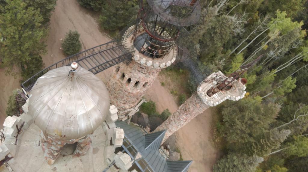 above bishop's castle