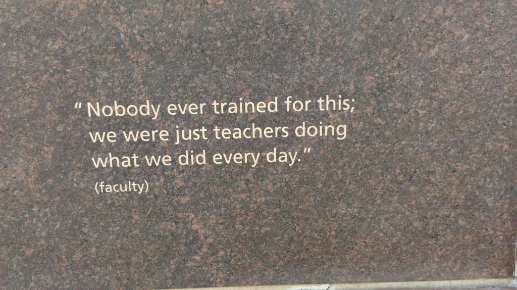 teachers thought